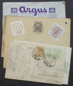 EDW1949SELL-ROMANIA-Collection-of-7-covers-or-Post-Cards