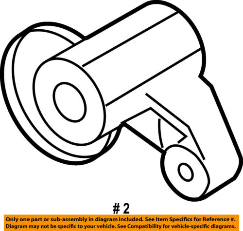PORSCHE OEM 03-06 Cayenne 4.5L-V8 Belt or Pulley-Support 94810240103
