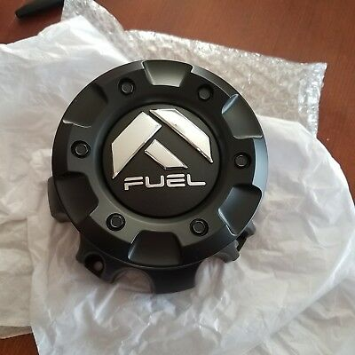 FUEL Custom  Wheel Center Cap Flat Black Finish CAP M-444  1001-59  NEW