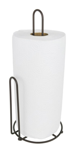 Southern Homewares Stand Style Metal Quick Load Paper Towel Holder