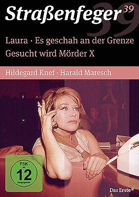 4 DVDs * STRAßENFEGER 39 - LAURA / MÖRDER X / AN DER GRENZE # NEU OVP^