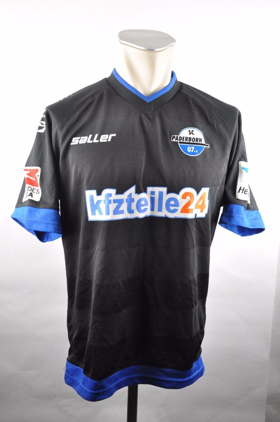 SC SC SC Pasderborn Trikot Gr. M Saller 2013-2014  27 Pepic Home Bundesliga SCP 07 c1f1f0