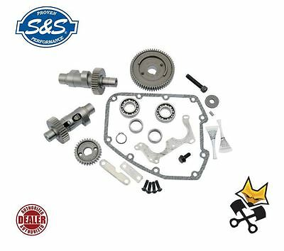 S&S 551 EASY START GEAR DRIVE CAMSHAFT CAM KIT HARLEY 1999-06 TWIN CAM 106-5442