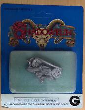 Grenadier Models Shadowrun - 1309 Elf Biker on Rapier (MiB, Sealed)