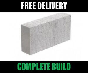 Thermalite Blocks Ash Blocks (Toplite / Celcons) 100mm 3.6N - FREE Delivery