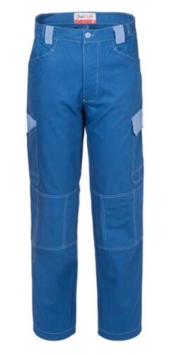 A00225 Meccanico Celeste Pantaloni Resistenti X Azzurro Gommista Lavoro Royal q0g8q