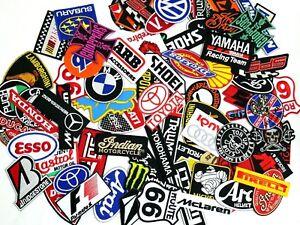 Mix-Random-Lot-of-20-Racing-Sport-Motorsport-Embroidered-Sew-Iron-On-Patch-Biker
