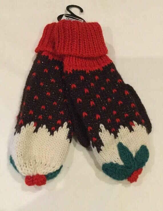 Next Christmas - Christmas Pair of Gloves set From Next - One size - RRP