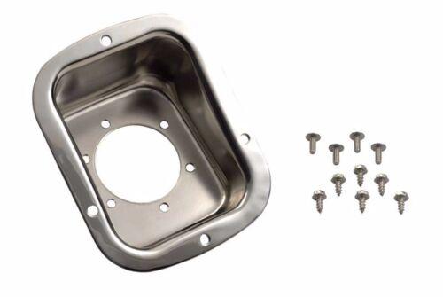 Kentrol Gas Filler Neck Stainless Steel for Jeep CJ Wrangler YJ 1978-1995 30468