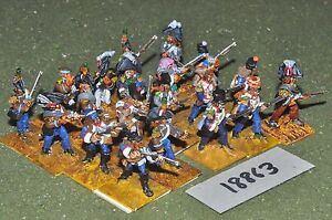 Flintloque Fantasy Elves Ferach Line Regiment 20 figurines {16} (18863)
