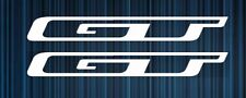GT Bike Frame Decals Sticker Set of 2 MTB DH Cycling Road Freeride