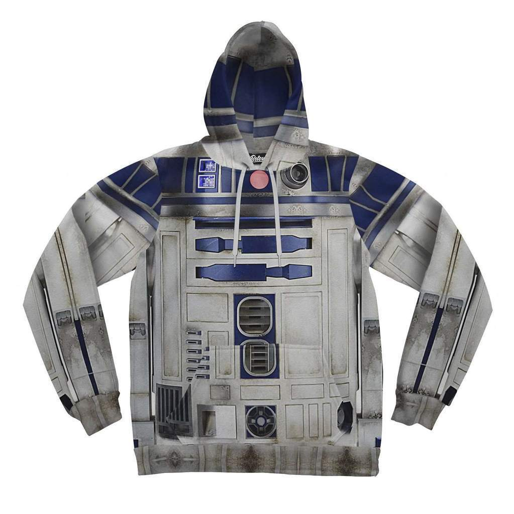 NEW Beloved Shirts R2D2 STAR WARS HOODIE SMALL-3XLARGE MADE IN THE USA COMIC