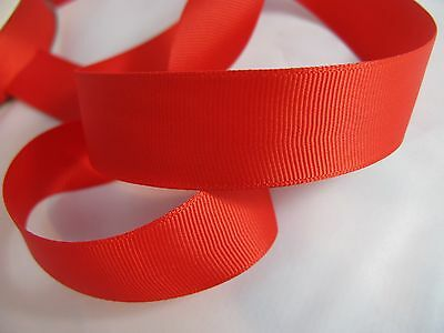 10mm Wide ** *** DARK CERISE Ribbon GROSGRAIN
