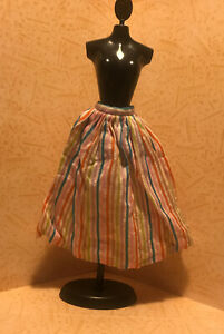 Barbie Clothes Vintage 1964 Barbie In Holland Striped Skirt 0823 Colorful Ebay