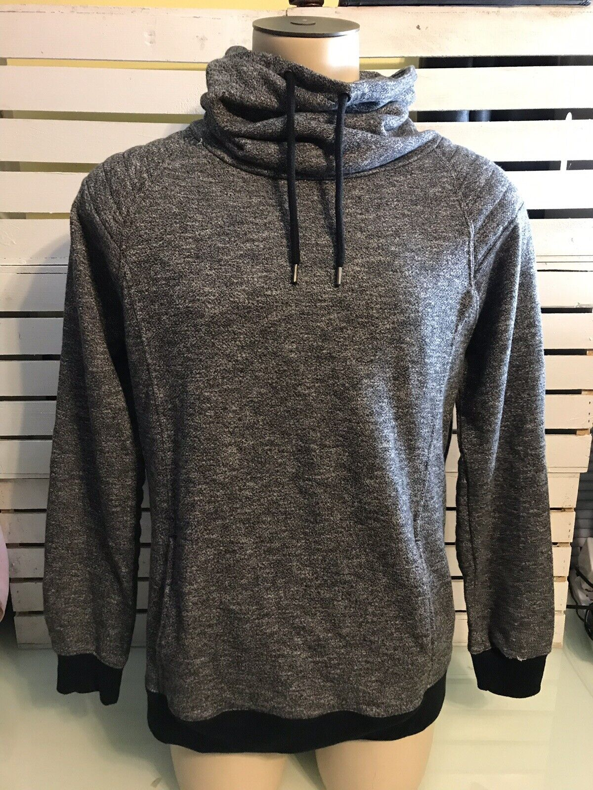 21 Men (by Forever 21) Dark Grey Soft Knit Cardigan Sweater Size XLarge