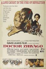 """""""DOCTOR DR ZHIVAGO"""" (Omar Sharif) - 40""""x 27"""" Full Size Film Poster"""