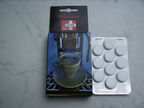 Nivona WMF 1 Blister SHB Swiss Cafe Clean Reinigungstabletten alle Modelle z.B