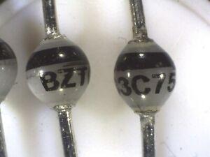 10x diodo Zener 1N4736A 1W 6.8V electrónica calidad 1N4736 económico 85