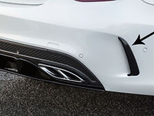 Mercedes W205 AMG C63 C Class Saloon Sedan Limo AMG Rear Bumper Spoiler Flics