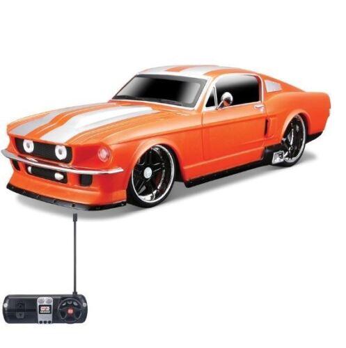 81061 Maisto Remote Control 1:24 R//C Ford Mustang GT 1967 Orange
