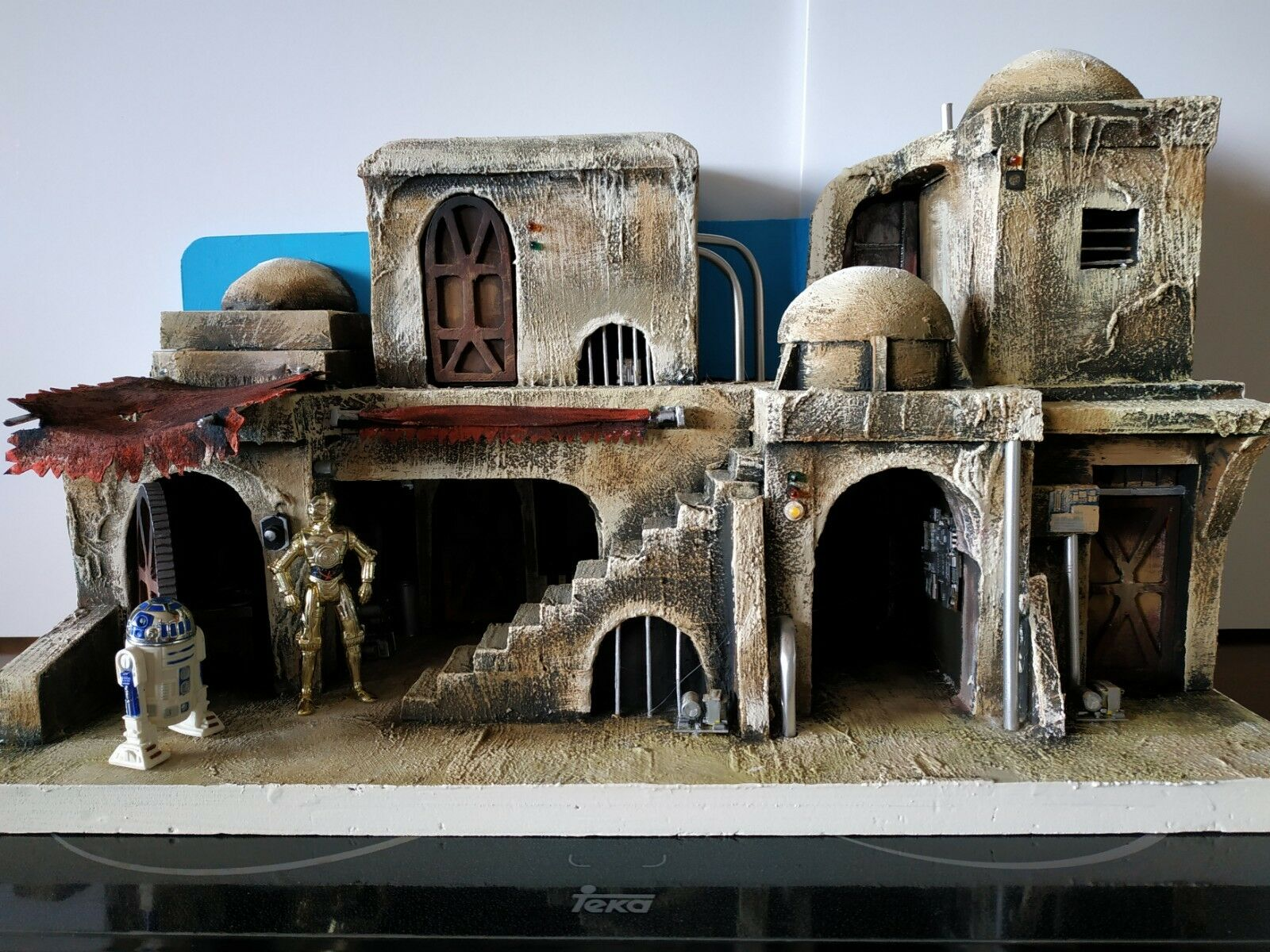 Custom Star Wars Wars Wars DIORAMA -Tatooine-Building a18616