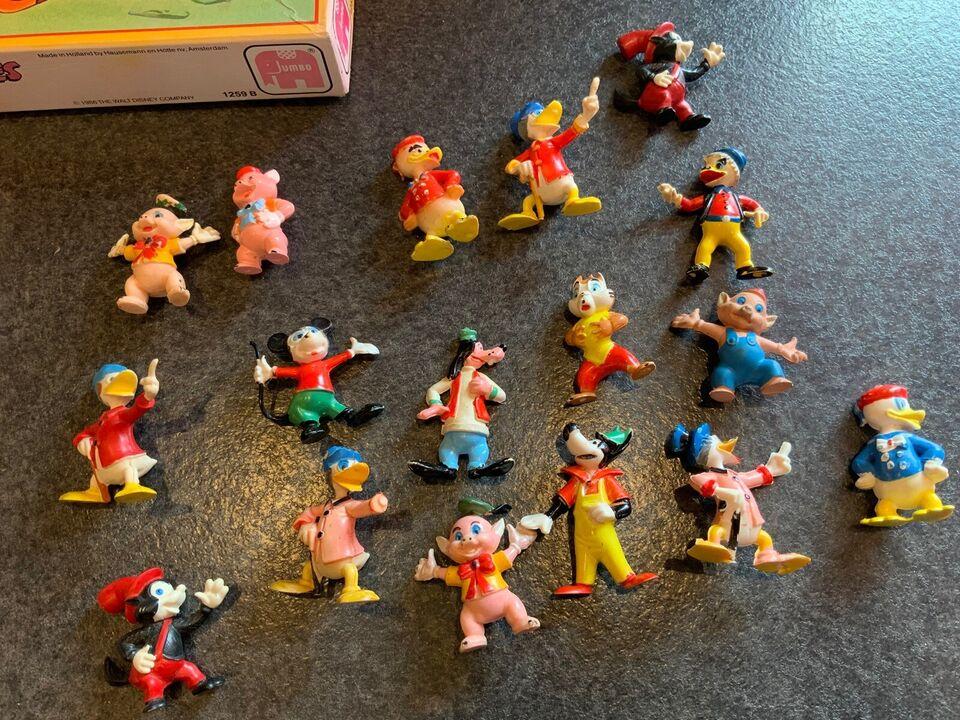 Legetøj, Gamle disney figurer og puslespil