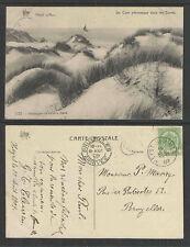 1909 HEYST BELGIUM UN COIN PITTORESQUE DANS LES DUNES POSTCARD