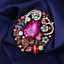 Women-039-s-Colorful-Crystal-Rhinestone-Flower-Charm-Betsey-Johnson-Brooch-Pin-Gift thumbnail 3