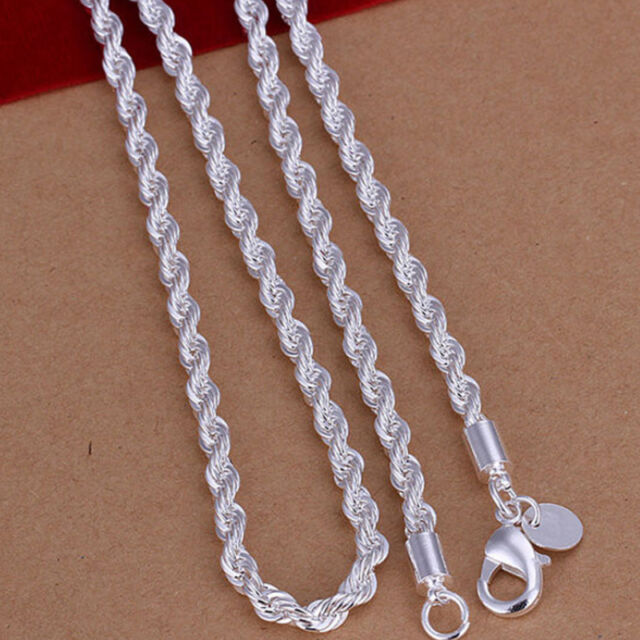 16-30 Inches MENS Chain Stainless Steel Silver Cuban Curb Link Necklace Bracelet