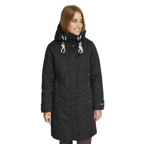 Khujo Trina hiver manteau femmes hiver Veste Noir Pluie Veste