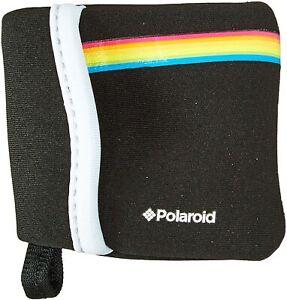 Polaroid Neoprene Pouch for Polaroid Cube & Cube+ Action Cameras - Black