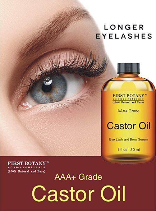 100 Pure Organic Castor Oil Hexane For Eyelashes Hair Face And Skin