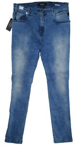 Hyperfree Replay Skinny 145 denim W34 Fit Neasan £ Rrp uomo Jeans L32 blu fdArwd