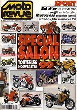 MOTO REVUE 3343 SUZUKI GSX-R 750 R YAMAHA R6 R7 HONDA VFR BMW K1200 R1100 1998