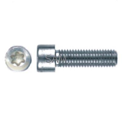 25 Pièces vis tête cylindrique Torx M3x20 ISO 14579 acier inox A2