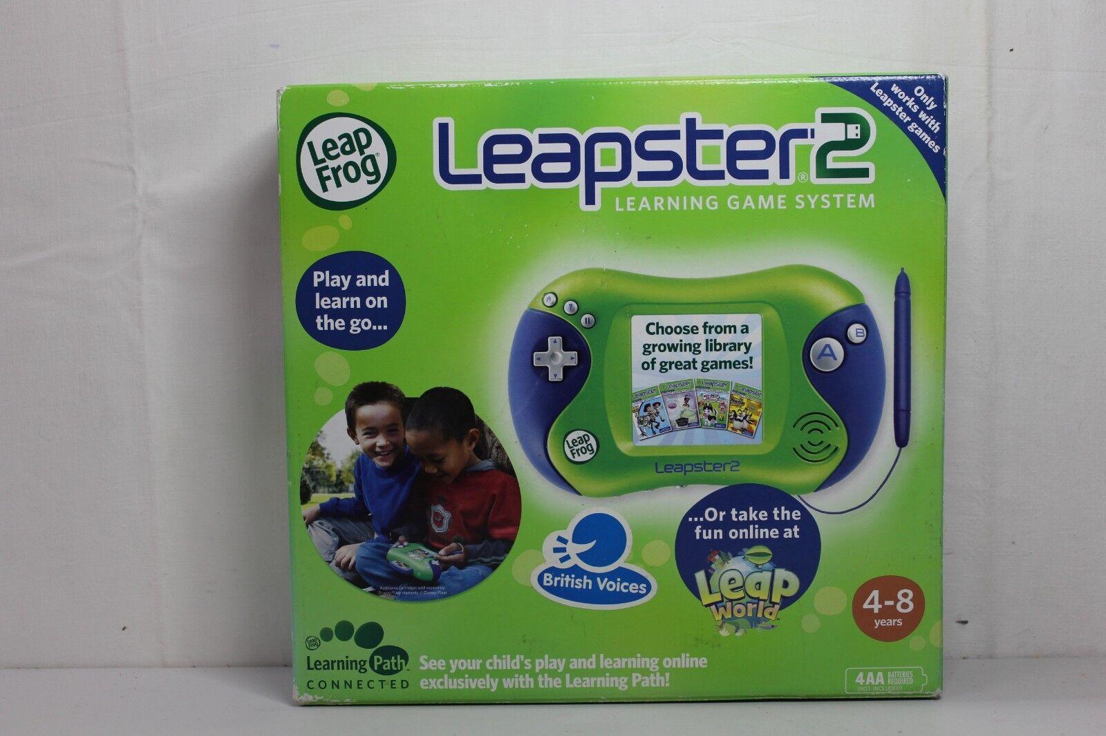 LeapFrog Leapster2 Gaming System (Green)