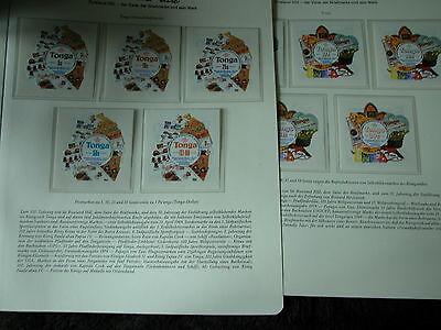 Satz Tongaselbstklebend <top Briefmarken Ausdauernd Rowland Hill 100 Jahre Geschichte Der Briefmarke