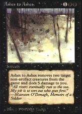 4 Ashes to Ashes ~ Near Mint The Dark 4x x4 Playset MTG Magic Black Card Ultimat