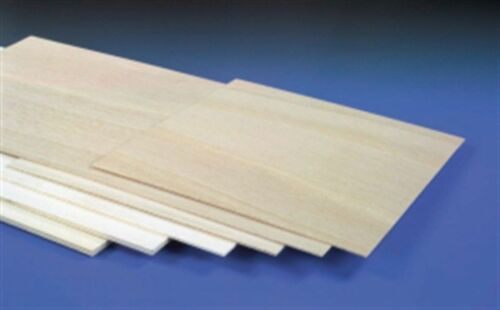 Liteply Plywood Sheets Choice 2mm T48 3mm /& 6mm Thick x 300mm Long x 300mm W