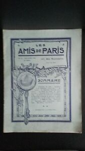 Revista Dibujada Las Amis De París N º 32 Mensual 1914 Gerente Claude Simond ABE