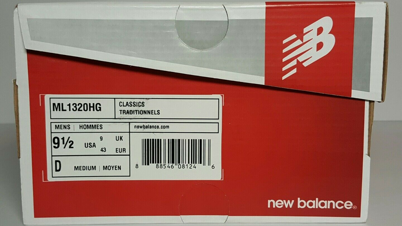 NEW BALANCE MEN'S HUNTER SIZE 9.5 ML1320HG CLASSICS HUNTER MEN'S GREEN SUEDE / MESH NEW/BOX fb577f