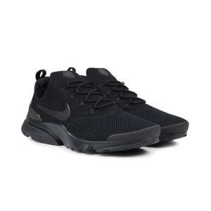 detailed look c966e c8d86 Men's Nike Presto Fly 908019 001 Black/Black Light Shoes Running SZ ...