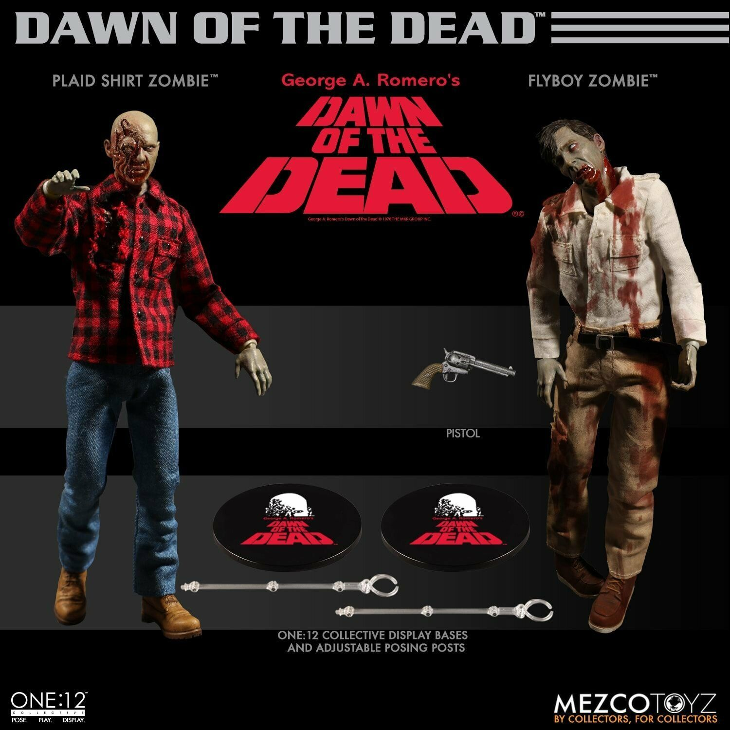 Mezco One 12 Collective - Dawn of the Dead Boxed Set