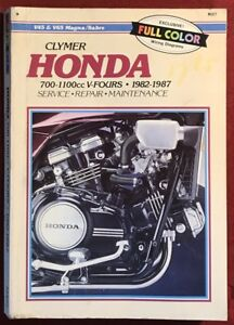 image is loading clymer-repair-manual-honda-700-1100cc-v-fours-