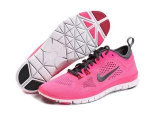 Nike Free 5.0 Tr Fit 4 Formateurs Dames Roses