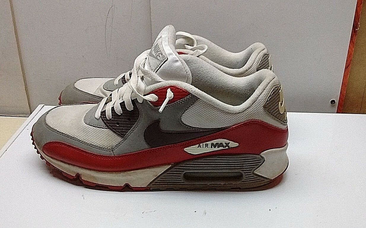 Nike Air Max Ultra Men Red White Lace Up Athletic Running Sneaker shoes 14M 49.5