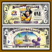 Disney 1 Dollar, 2009 Series t Mickey Celebrate Uncirculated