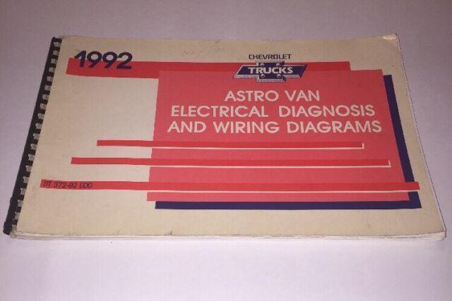 1992 Chevy Astro Van Electrical Wiring Diagram Service