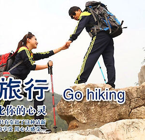 1-Gold-Foldable-Light-Strong-Walking-Stick-Holiday-Travel-Climbing-Birthday-Gift