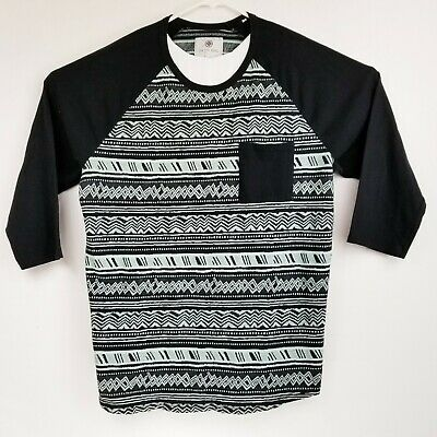 NEW Men/'s On the Byas Colored Tribal Jersey-style T-shirt S, M, L, XL